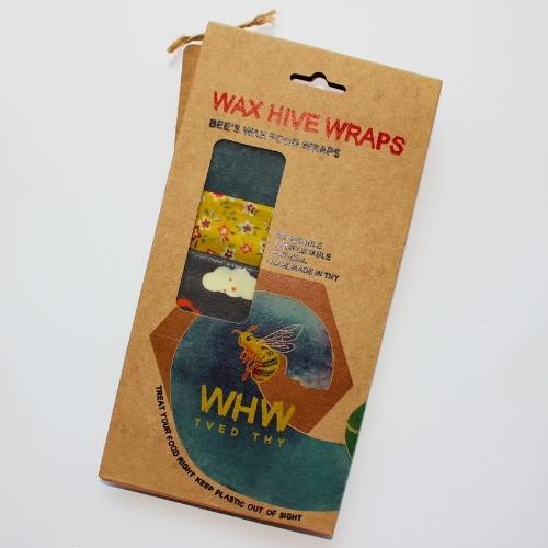 Pakke med bivokspapir
